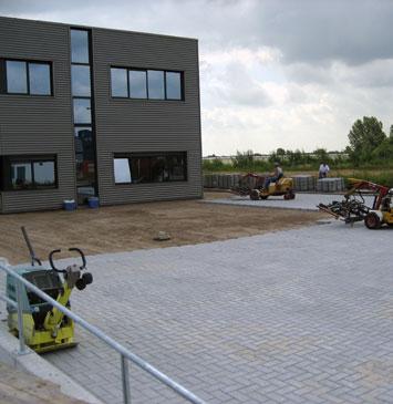 Magazijn Industriepark Hazeldonk (NL)